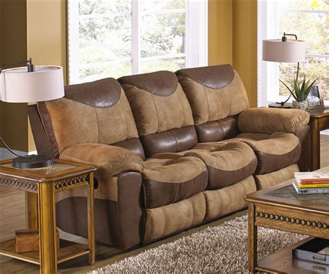 Two Tone Set two tone reclining sofa 2 reclining sofa set in