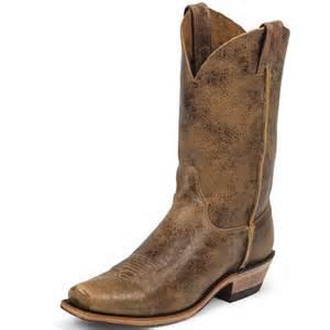 shop men s justin tan road cowboy boots