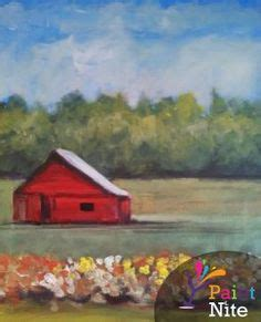 paint nite harrisburg waterfall sniffin paint nite whole canvas is