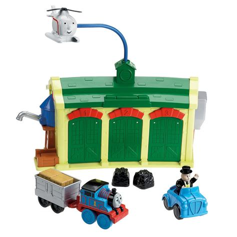 And Friends Tidmouth Sheds Deluxe Set by Friends Tidmouth Sheds Toys Figures Accessories Playsets