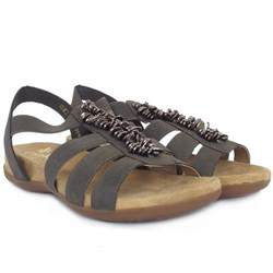 sandals comfortable stylish rieker neopolitan s comfortable sandals in taupe
