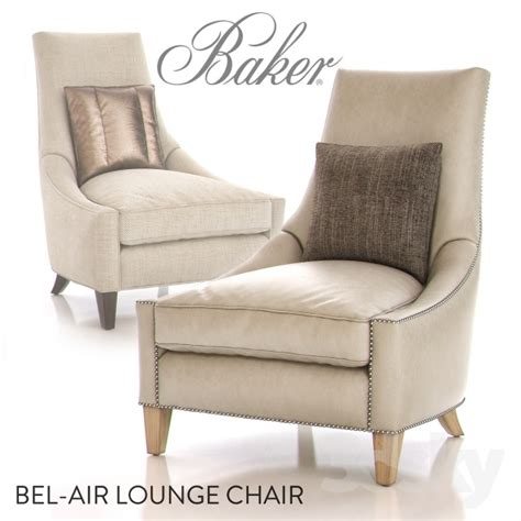 Air Lounge Chair by 3d Models Arm Chair Baker Bel Air Lounge Chair