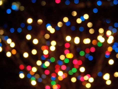 out of focus christmas lights free images at clker com
