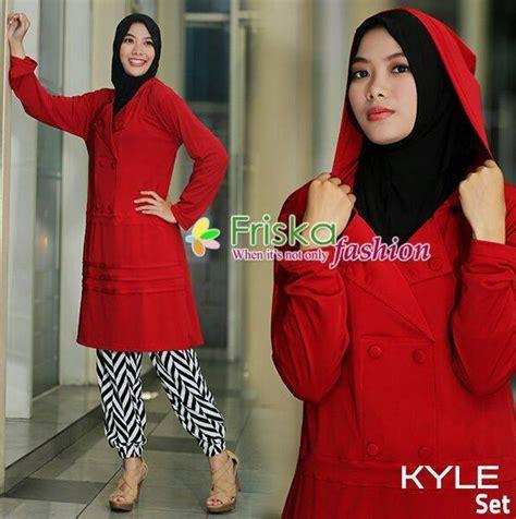 Erita Set Baju Muslim Wanita Casual Set Muslim Modern Ar contoh aneka model pakaian contoh foto baju muslim modern