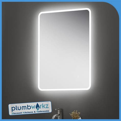 Illuminated Magnifying Mirrors For Bathrooms by Led Bathroom Mirror Illuminated Demister Sensor Touch