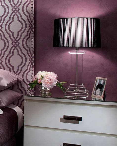 eggplant bathroom color of the month decorating with aubergine abode