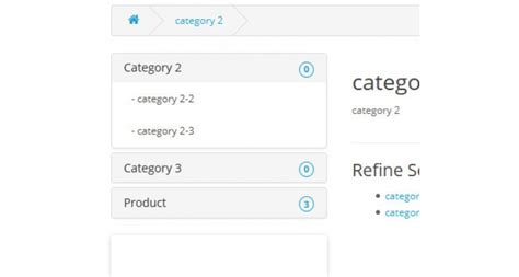 bootstrap accordion layout opencart category menu accordion bootstrap