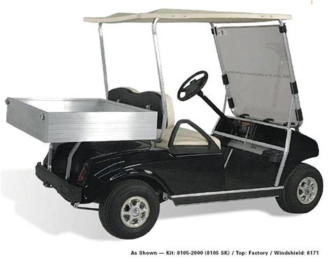 golf cart bed rear seats and cargo beds for golf carts