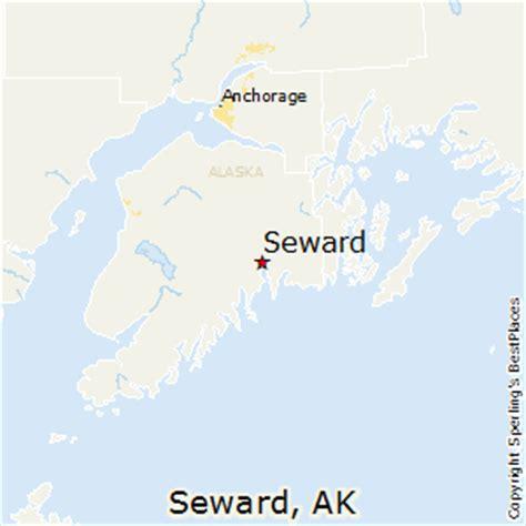 us map seward alaska best places to live in seward alaska