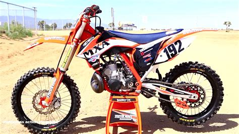 250 2 Stroke Ktm 2015 Ktm 250 Sx 2 Stroke Project Bike Derestricted