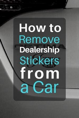 How To Remove Sticker