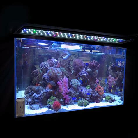 36 inch aquarium light 24 quot 36 quot 48 quot multi color led aquarium light 0 5w full spec