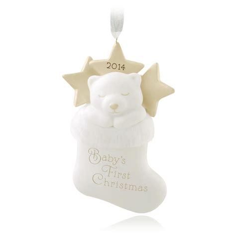 amazon hallmark 2014 babys 1st christmas one cute amazon com hallmark 2014 baby s 1st christmas one cute