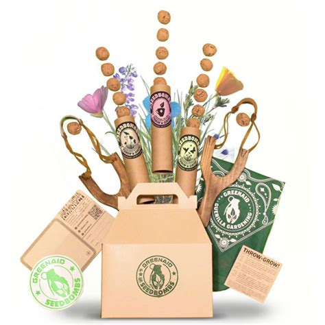 Gardening Gifts For Guerilla Gardening Gift Boxes Are A Great Way To Inspire