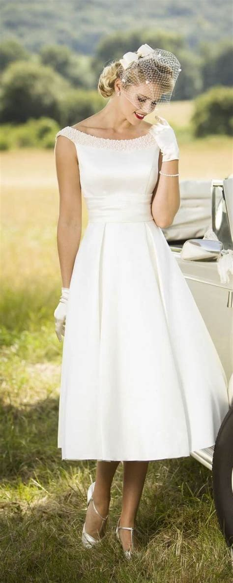 Simple Wedding Dress Civil