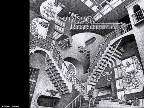 M C Escher Sketches by Drawing At Duke M C Escher