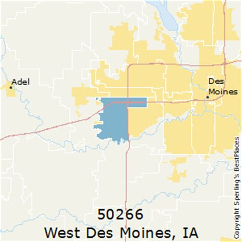 zip code map des moines best places to live in west des moines zip 50266 iowa