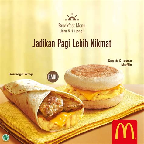 Mcd Breakfast breakfast menu mcdonald s indonesia