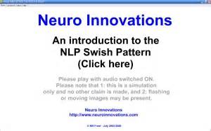 nlp swish pattern video neuro innovations visual nlp swish technique visual