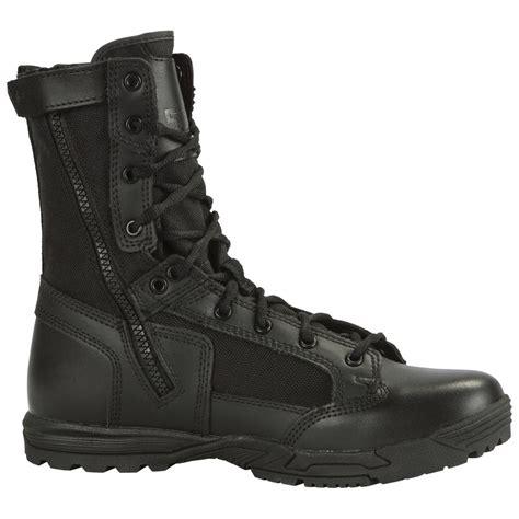 5 11 Tactical Boots 8 Black 5 11 tactical skyweight 8 quot ultra lightweight side zip