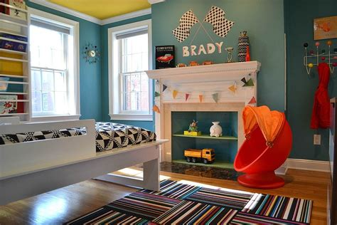 red and blue childrens bedroom trendy and timeless 20 kids rooms in yellow and blue