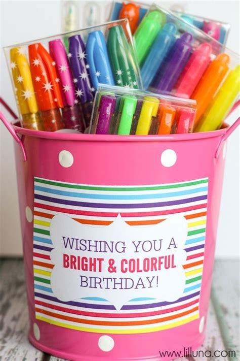 birthday gift ideas for her bright bold and beautiful art supplies valentiens