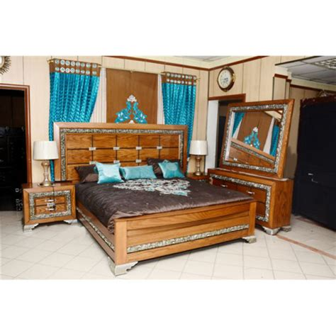 bed and side table set bed set with side table and dressing carving