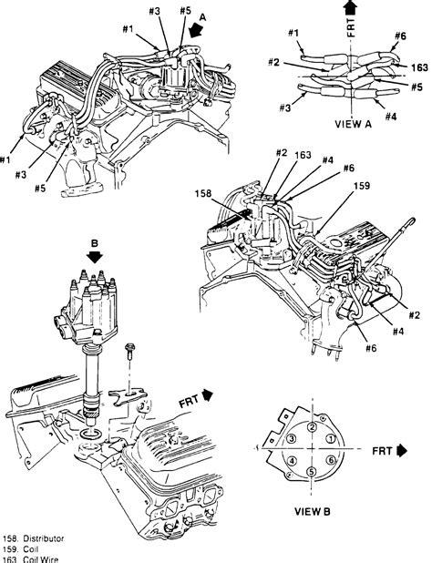 looking for distributor cap spark wiring diagram for