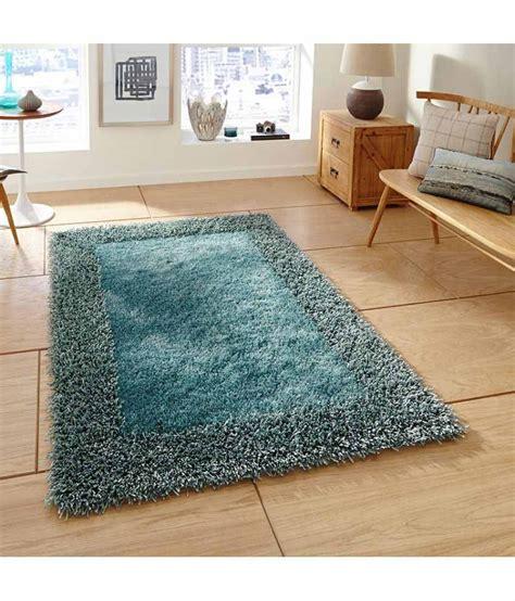 dizen blue shaggy carpet plain buy dizen blue