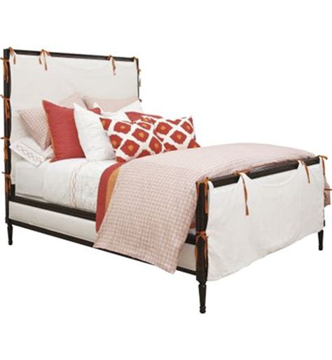 Hickory Chair Beds by Candler Bed With Slipcover From The Suzanne Kasler