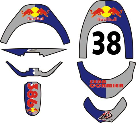 Red Bull Aufkleber Kostenlos by Ides De Red Bull Dirt Bike Stickers Galerie Dimages
