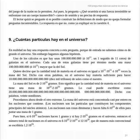 preguntas basicas net 25 de 100 preguntas basicas sobre la ciencia asimov 1