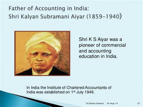 Mba In Accounting In India by History Of Accounting