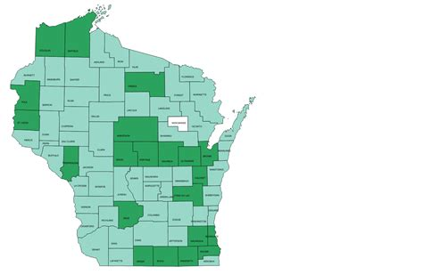 Door County Land Records by Wisconsin Local Government Web Mapping