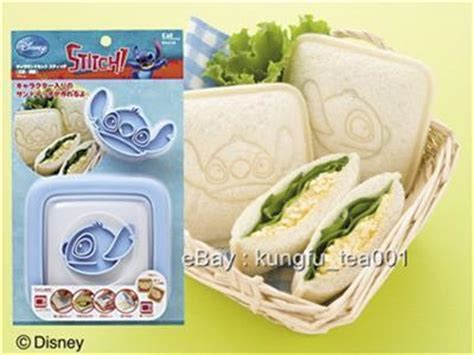 Bread Cutter Stitch disney stitch sandwich pocket maker bread toaste mold ad