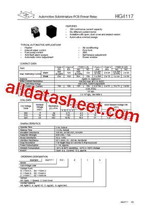 transistor h2a datasheet 28 images hg4232 datasheet pdf db lectro inc anti histone