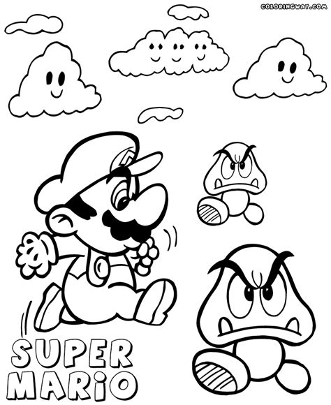 Goomba Coloring Pages Www Imgkid Com The Image Kid Has It Goomba Coloring Pages