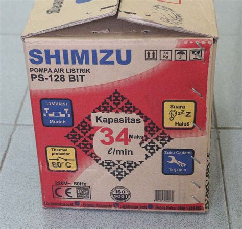 Pompa Shimizu Ps 128 Bit pompa air shimizu ps 128 bit elektrologi