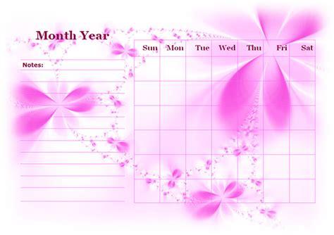 monthly blank calendar  purple shade  printable templates