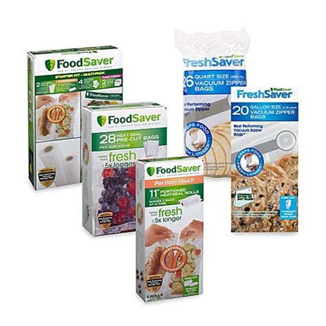 bed bath and beyond foodsaver foodsaver 174 freshsaver 174 zipper bags bed bath beyond