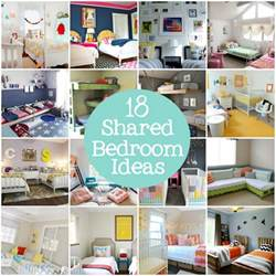 shared kids bedroom ideas 300x199 shared kids bedroom shared kids bedroom ideas for most sibling combinations