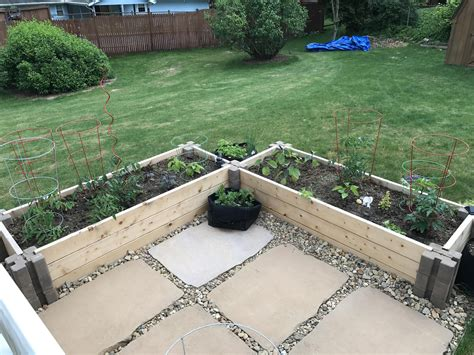 raised beds  home depot planter wall blocks