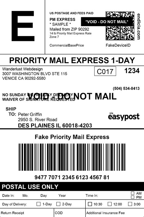 Ups Shipping Label Template 7 Popular Sles Templates Ups Label Template