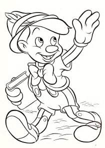 disney characters coloring pages walt disney coloring pages pinocchio walt disney