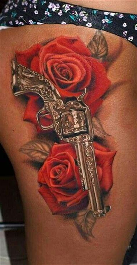 pictures of guns and roses tattoos collection of 25 roses and guns tattoos on stomach