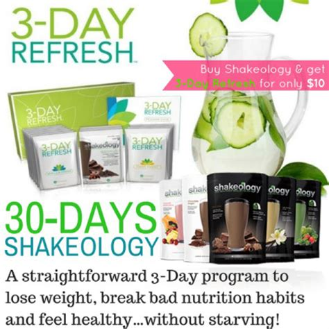 3 Day Detox Help You Lose Weight by Where To Buy Shakeology 3 Day Cleanse