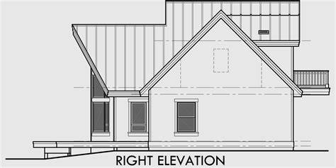 frame house plan master   main loft  bedroom