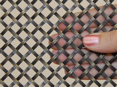 decorative wire mesh for decorative metal mesh panels flat wire mesh panels for