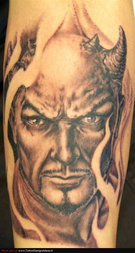satan tattoo tattoos inspiring tattoos