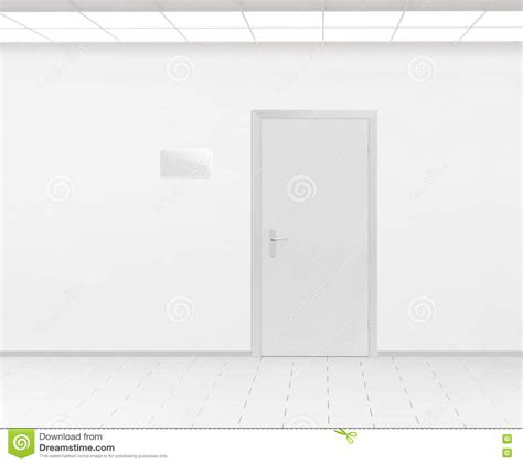 Office Door With Nameplate Stock Image Cartoondealer Com 45620473 Office Door Name Plates Template